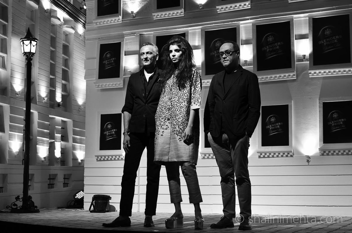 Abraham & Thakore at the Blenders Pride Fashion Tour 2014 preview in Mumba