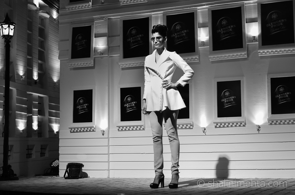 Designer Varun Bahl showcases at the Blenders Pride Fashion Tour 2014 preview in Mumbai