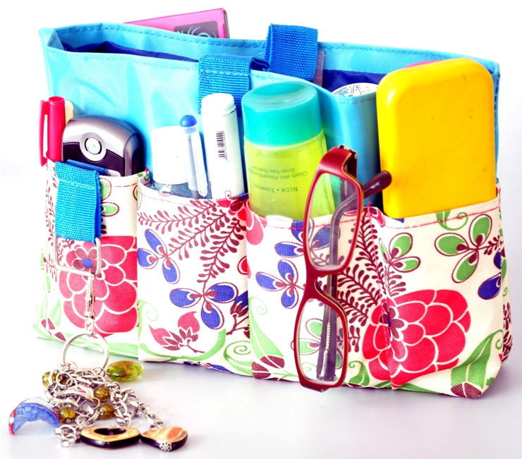 Bag/pouch for women to organize their essentials