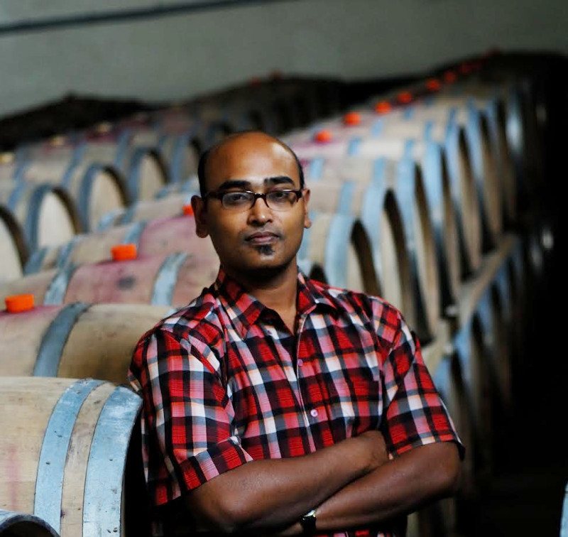Ajoy Shaw, Chief Winemaker, Sula Vineyards