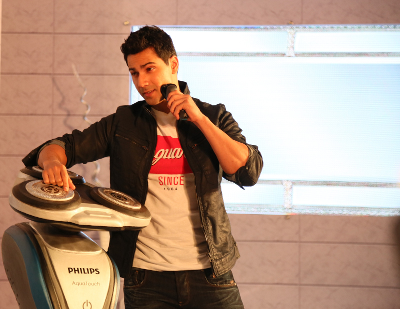 varun dhawan for philips