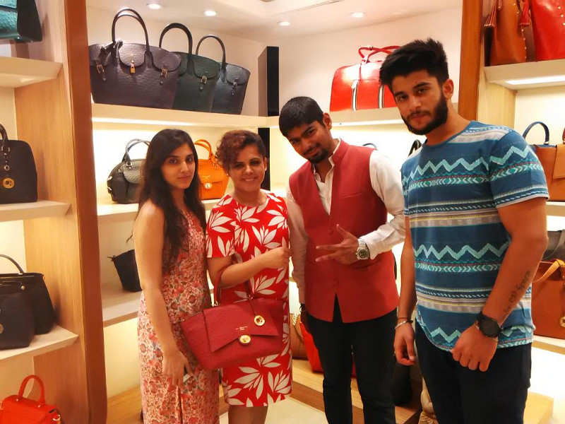 Bloggers' Meet at Da Milano SS'15 Collection Launch