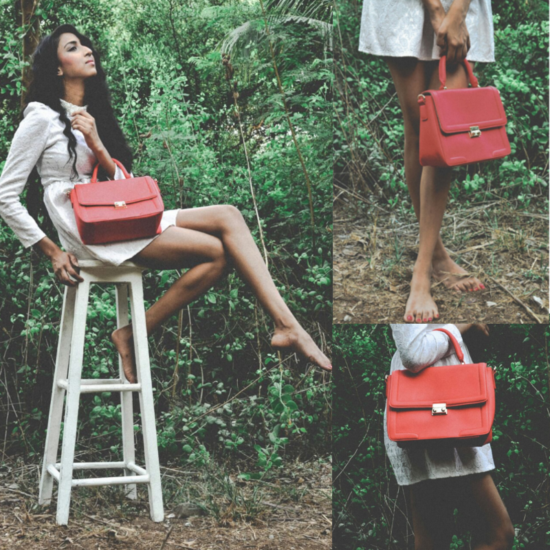 lavie bag photoshoot SS2015