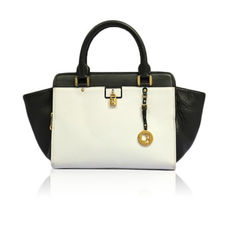 Da Milano Black & White bag