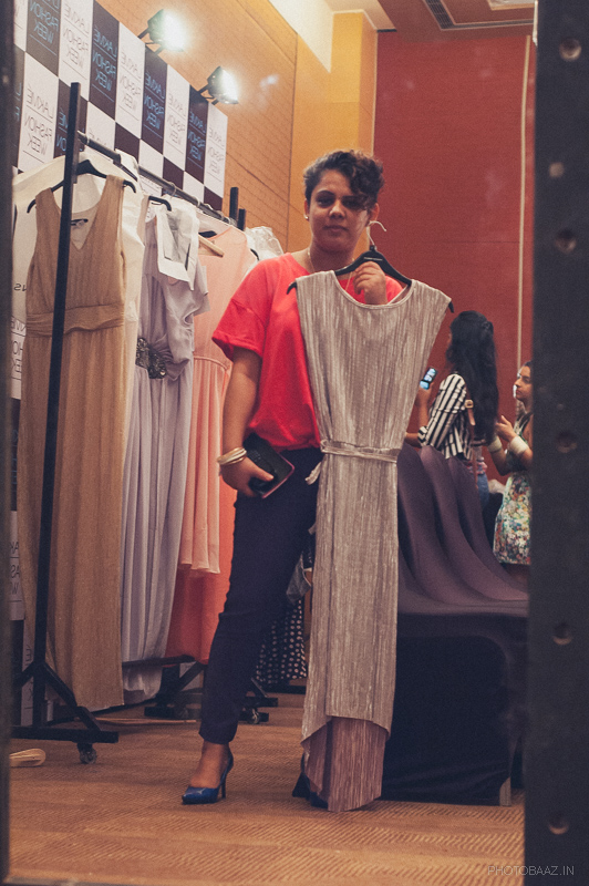 Fashin stylist & blogger Shalini Mehta at the Jabong sneak preview for LFW2014