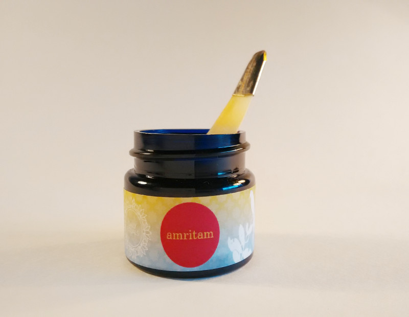 Amritam Solid Perfume, Good Earth