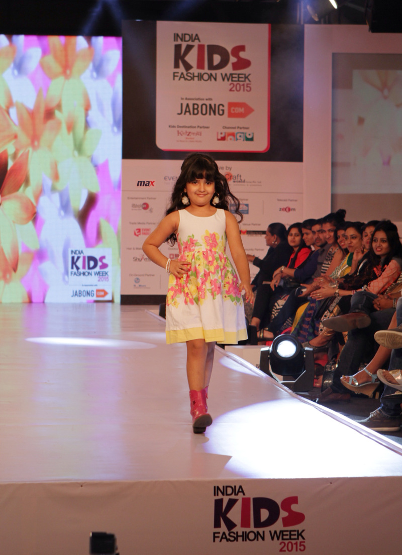Kids walk the ramp for MAX Fashion at India Kids Fashion Week (IKFW)