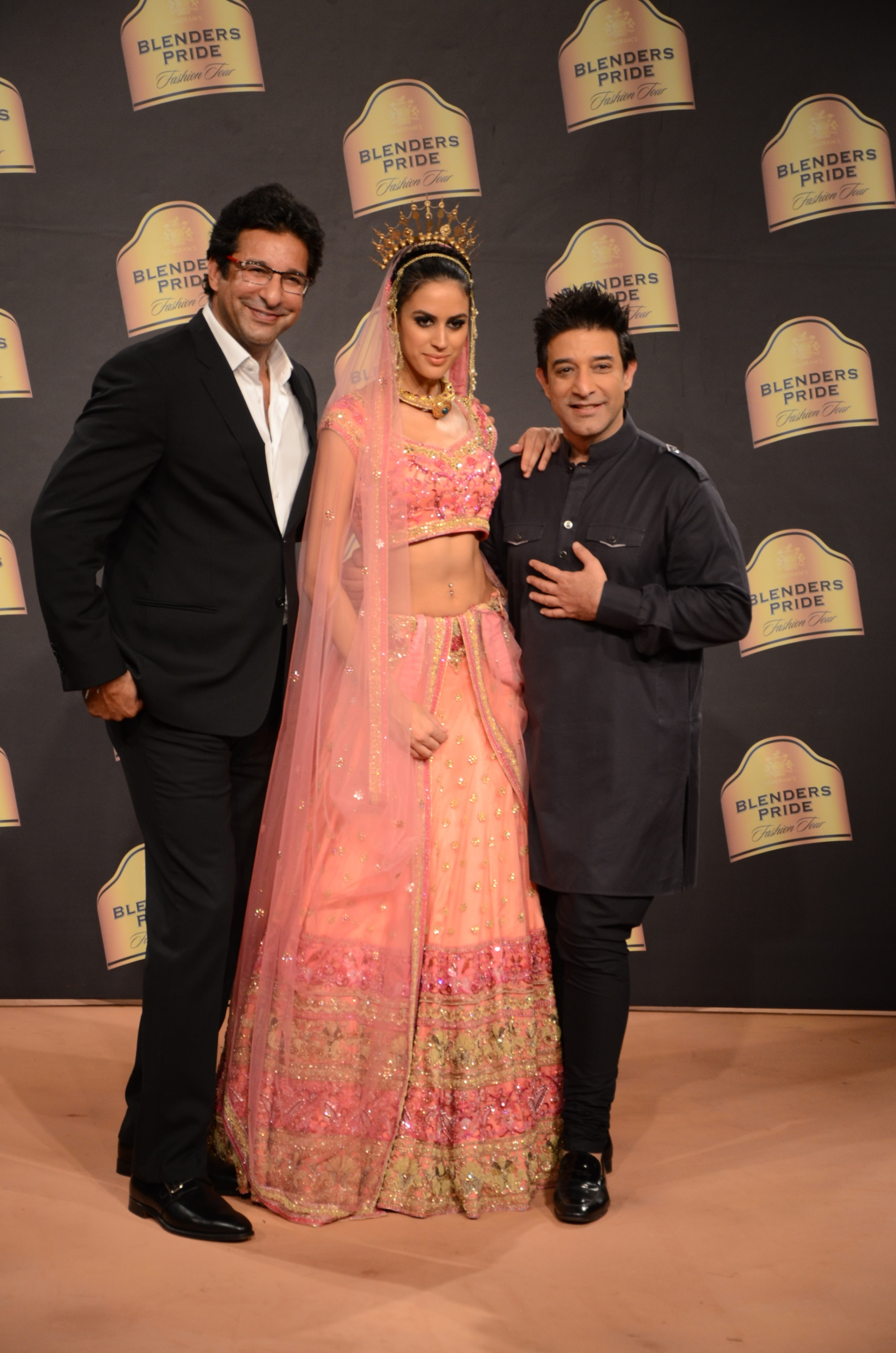Suneet Varma for Blenders Pride Fashion Tour 2014 Mumbai