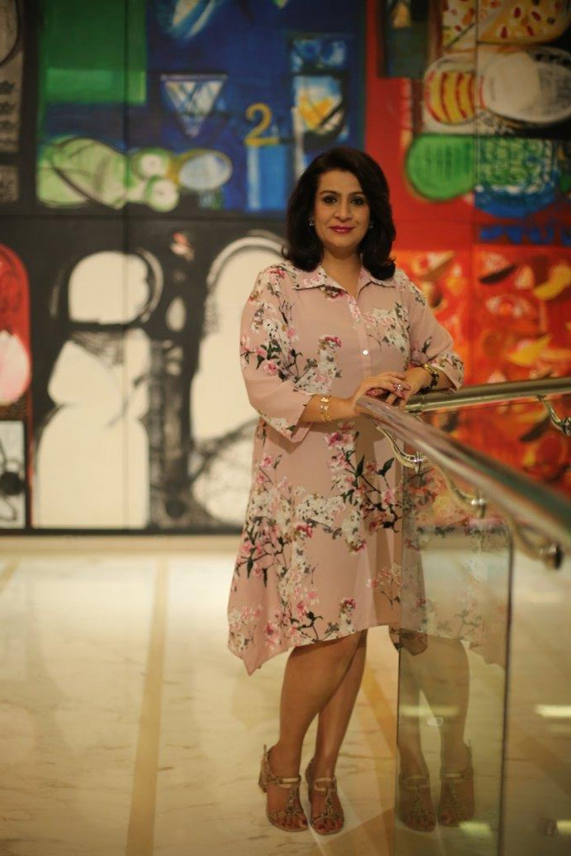 Fashion stylist Shalini Mehta styles celebrity entrepreneur Monisha Gidwani