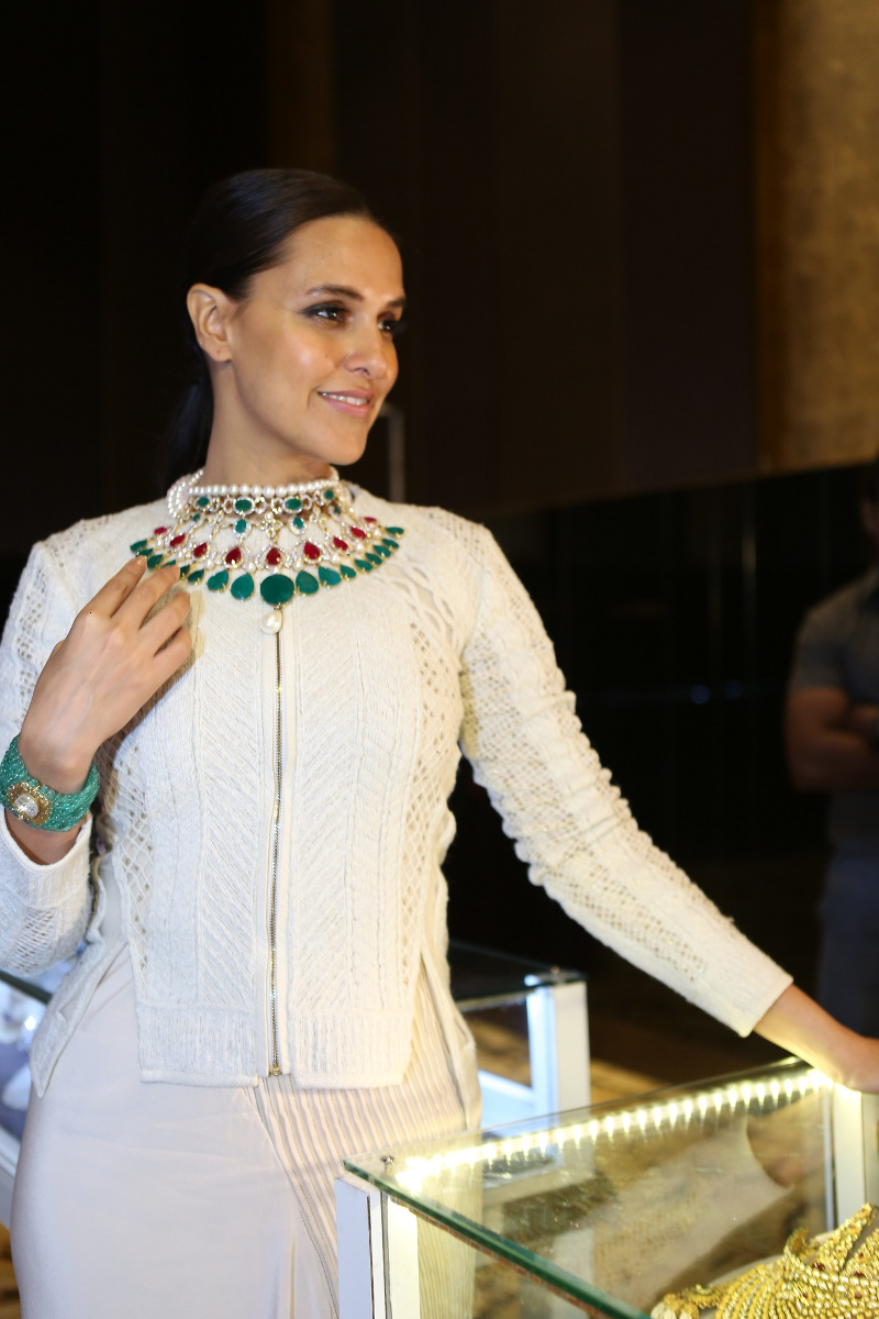 Neha Dhupia at the Grand Jury Meet of the 11th Annual Gemfields and Nazraana Retail Jeweller India Awards 2015!