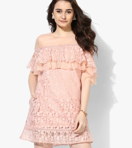 Buy Pastel Lace Dress Online