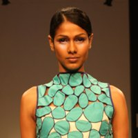 Sabbah Sharma as Gen Next LFW 2009