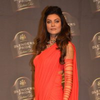 Sushmita Sen at the Blenders Pride Fashion Tour 2014 in Mumbai