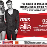 "MAX Presents Elite Model Look India 2014 ""National Casting"""