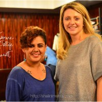 Fashion Stylist & Blogger Shalini Mehta with Natalie Joliffe of Miss Bennett