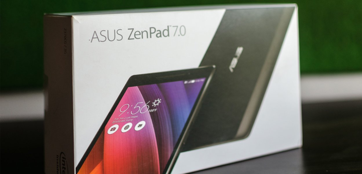 My New Year Gift! ASUS ZenPad 7