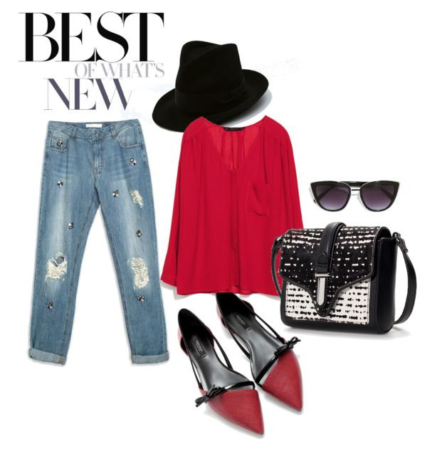 Stylish look put together for fashionstas: All from Zara India