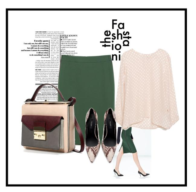 A stylish Corporate look put together for working women: All pieces from Zara India