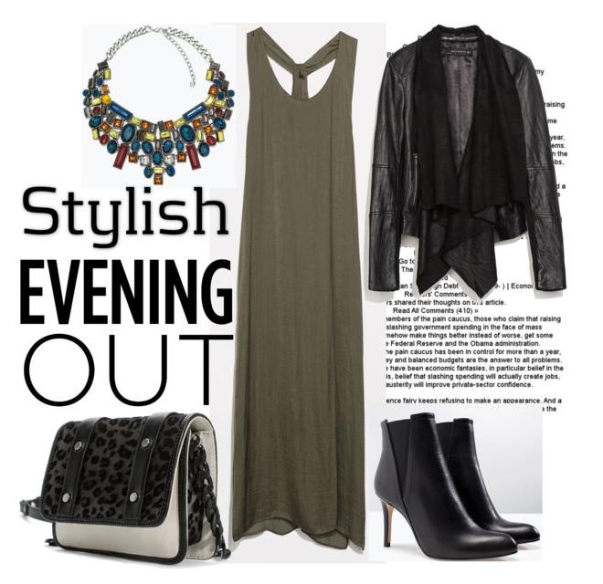 Stylish look put together for an evening out: All pieces from Zara India
